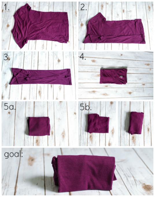 KonMari Pro-Tip: Folding