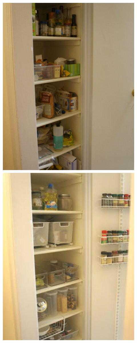 Sharon Reclaimed her Pantry!