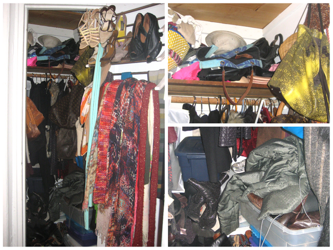 Claudia Reclaimed Her Closets!