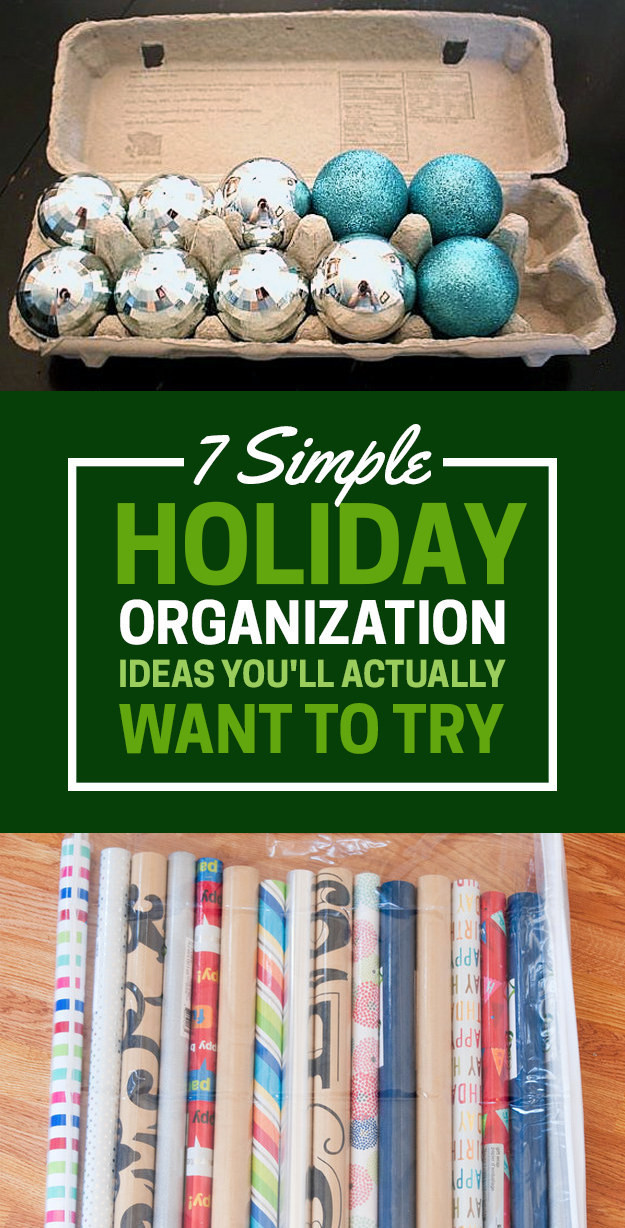 7 Surprisingly Easy Ways To Get Organized For The Holidays