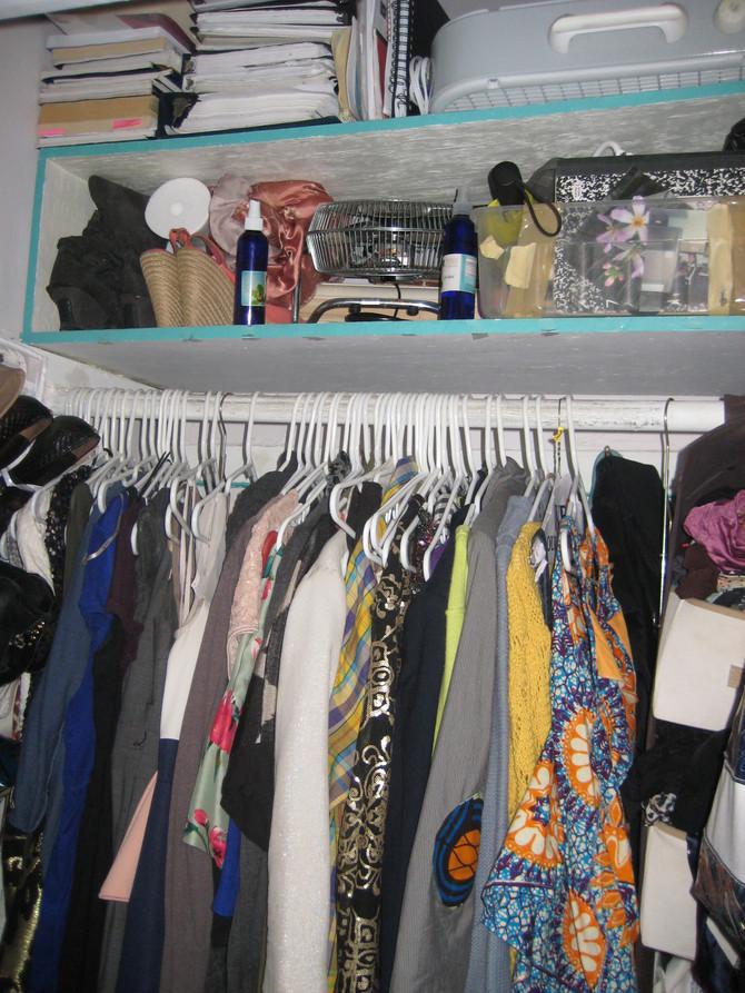 Grace Reclaimed Her Closet!