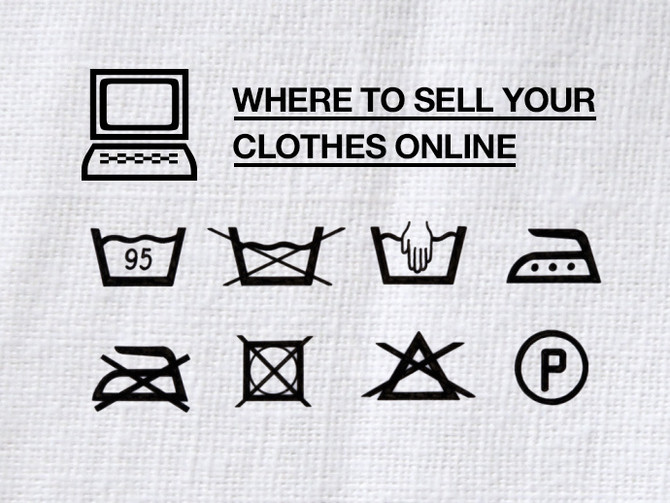 Great Article: Where to Sell Your Clothes Online!