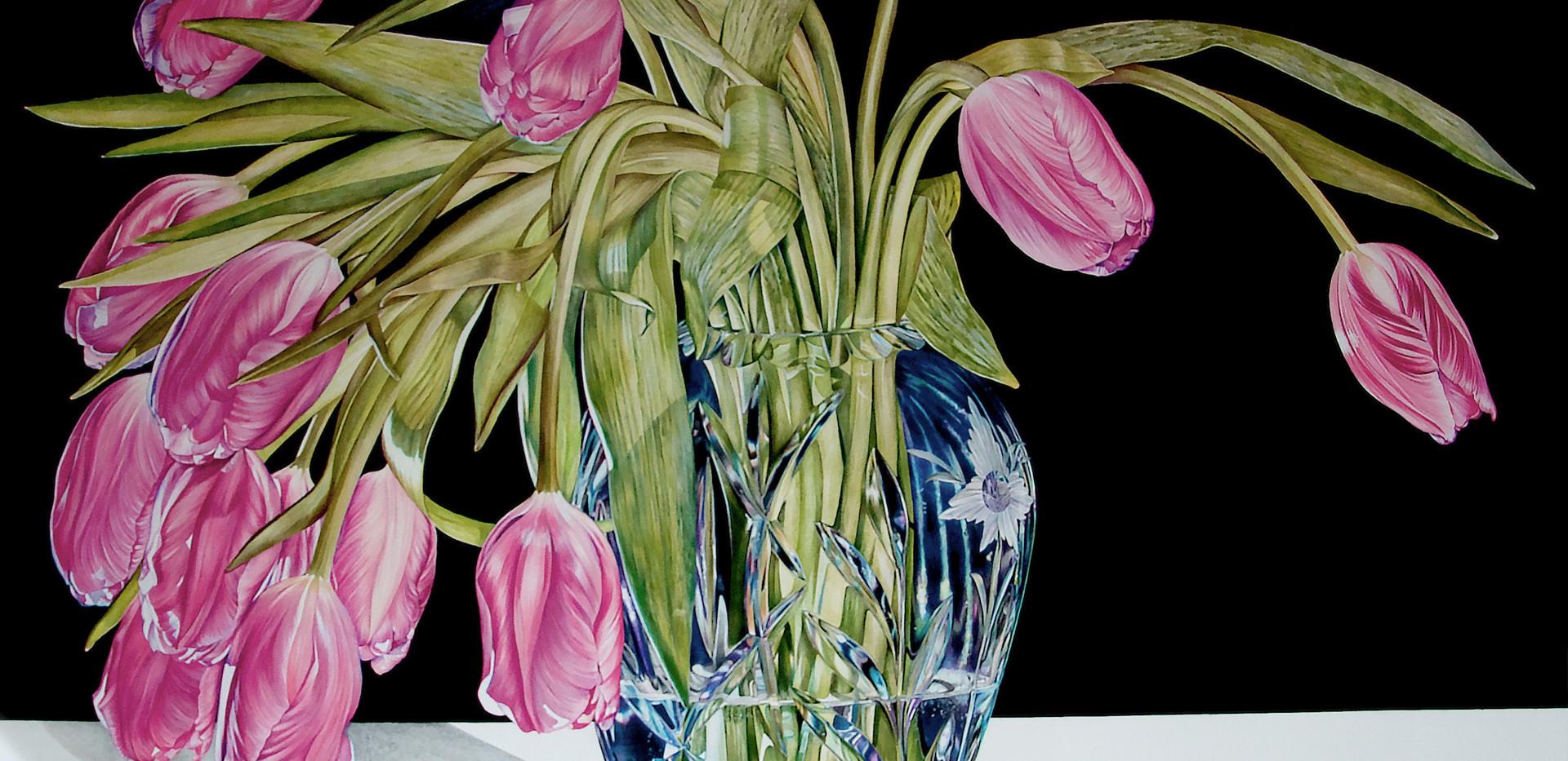 Tulip and Vase
