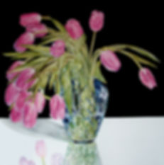botanicaldrawingtulipshyperrealismcolour