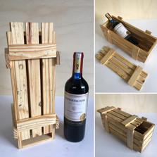 Caja Contenedor Vino