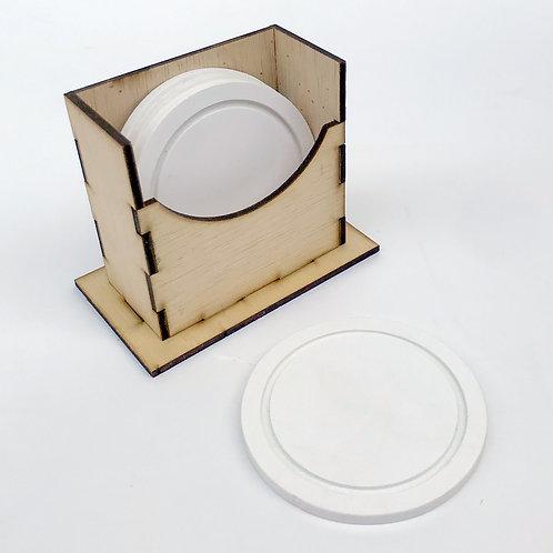 Portazavos PVC base de madera