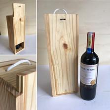 Caja Pino Vino