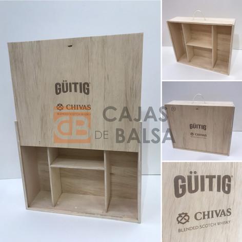 Caja / Güitig y Chivas