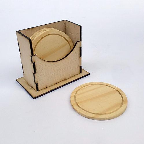 Portazavos de pino con base cpntrachapado