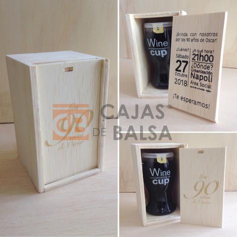 Caja WINE CUP