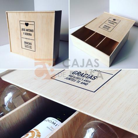 Caja 3 vinos