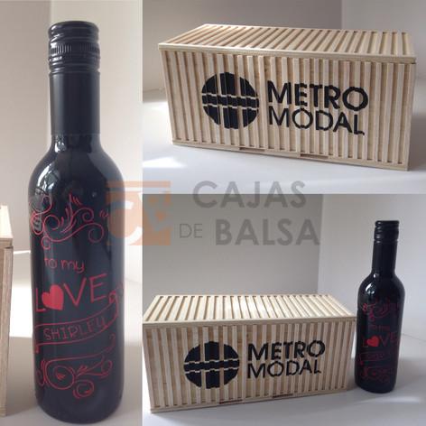Caja Vino tipo Container 375cc
