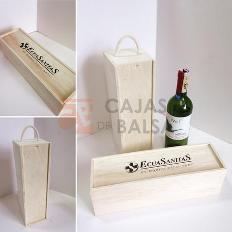 Caja Vino comercial