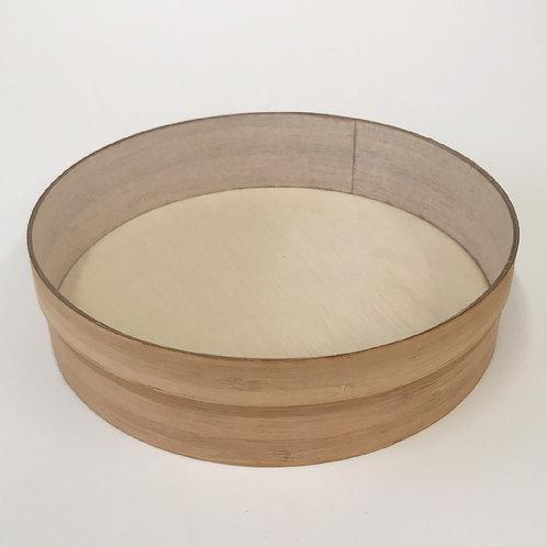 Caja redonda tapa acrílico