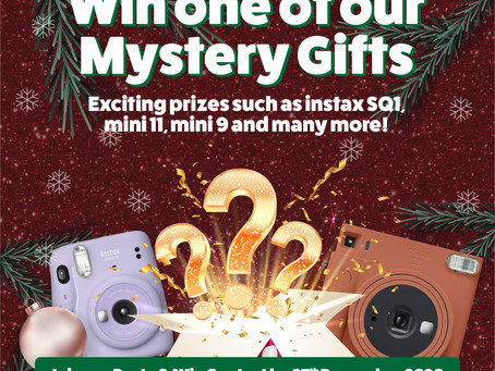 PASTE & WIN - instax Christmas Giveaway Contest