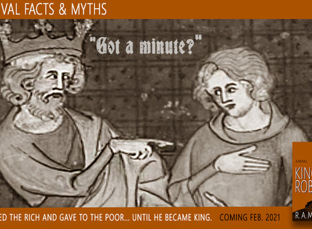 """Medieval Facts and Myths: """"Got a minute?"""""""