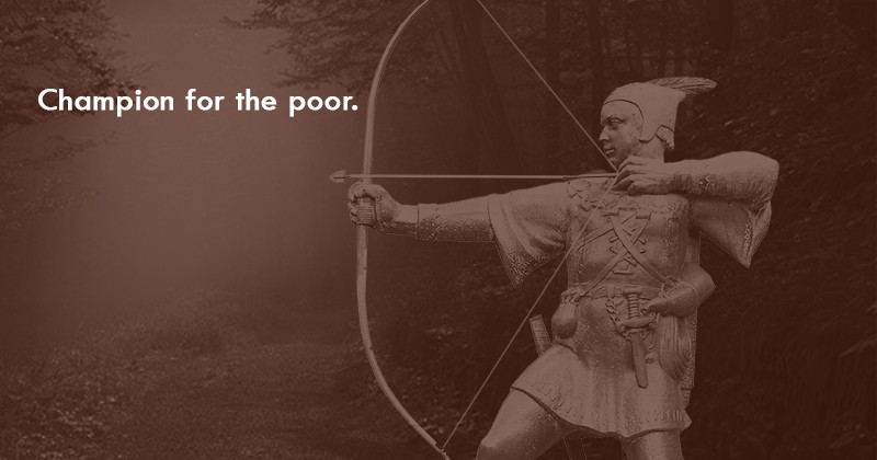 Champion for the poor