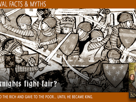 Medieval Facts & Myths: Did knights fight fair?