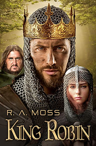 Cover of KING ROBIN novel by R. A. Moss