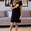 Thumbnail: Basic Black T-shirt Dress