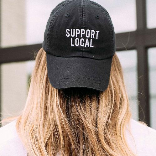 Support Local Baseball Cap