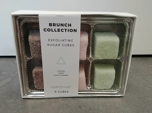 Exfoliating Sugar Cube set of 6