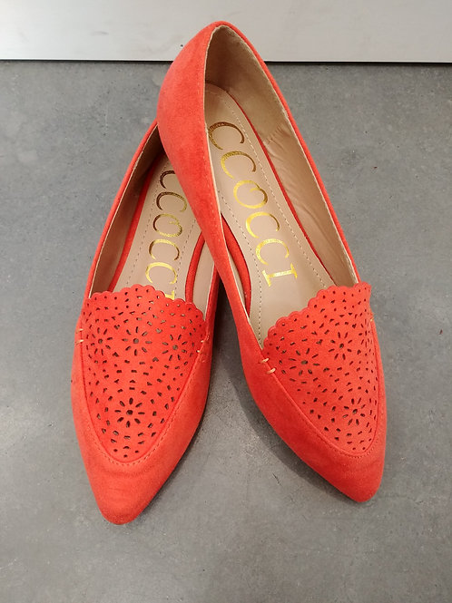 Tomato Red Flats (orange)