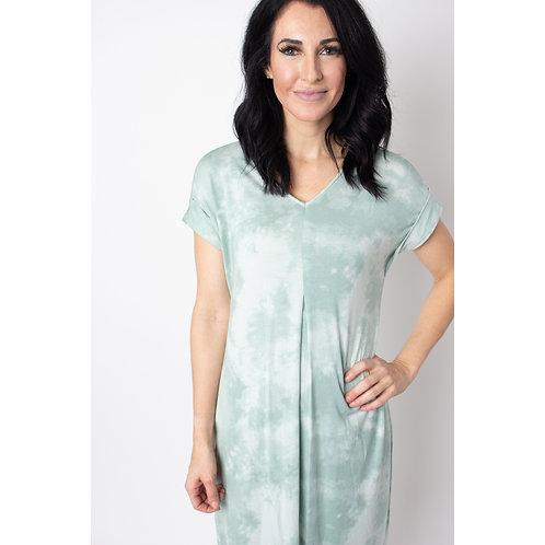 Tie Dye Slub Dress
