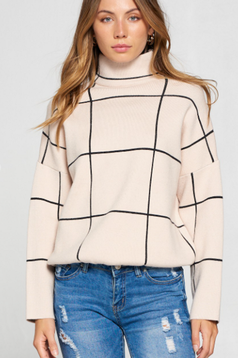 The Grid Sweater