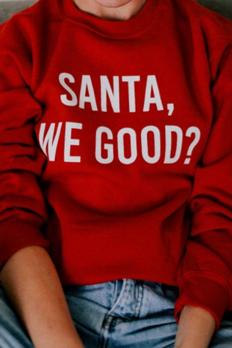 Classic Santa Sweatshirt