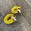 Thumbnail: Mustard Twist Earrings
