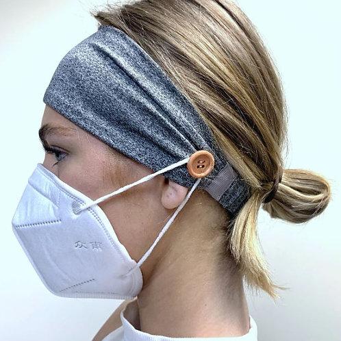 Headband for holding mask