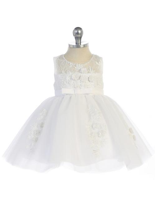 3D Lace Baby Dress
