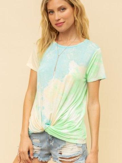 Twisted Tie-Dye T-Shirt