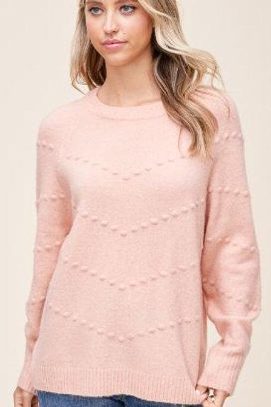 Cozy Peach Sweater