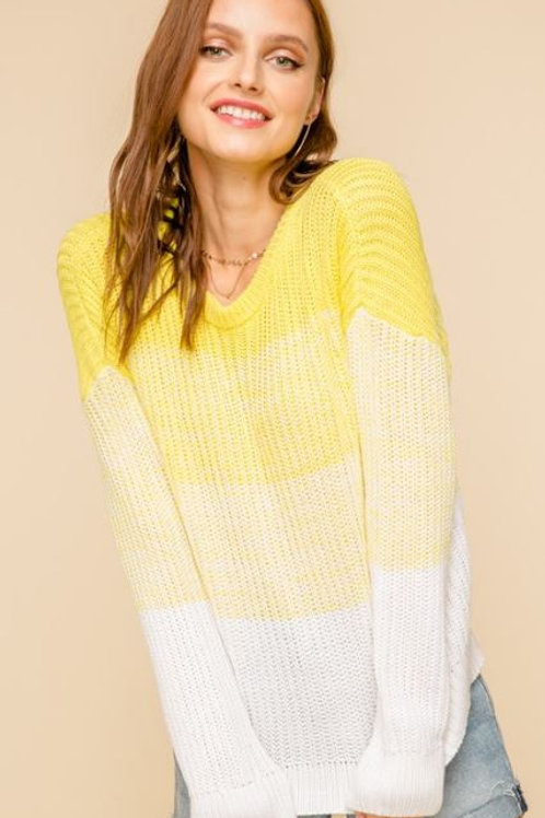 Lemon Drop Sweater