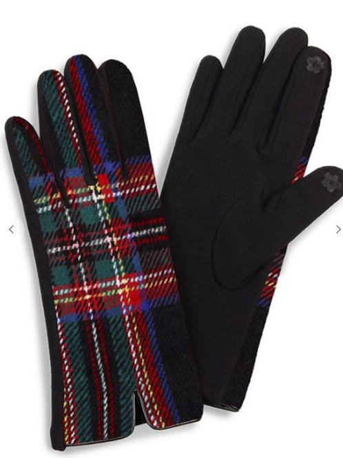 Tartan Plaid Gloves