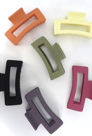 Square Claw Clip