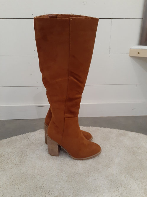 Tan Suede Boots