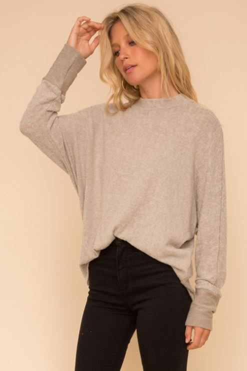 Dolman Grey Sweater