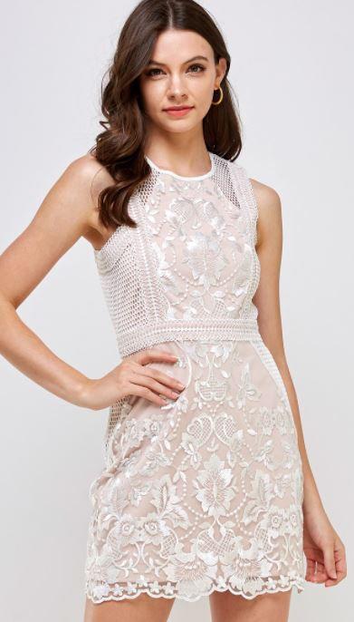 Liona Laced Detail dress
