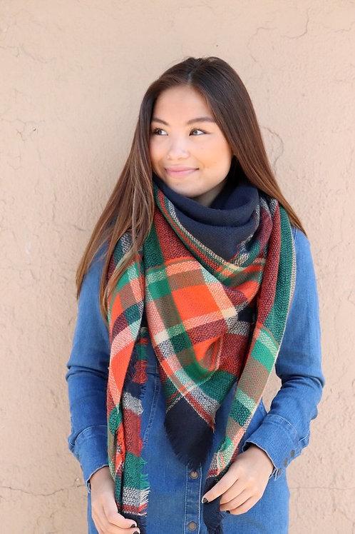 Collegiate Blanket Scarf