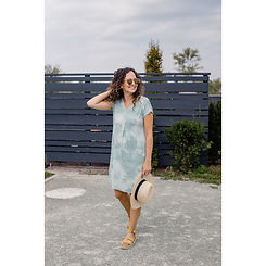 Sustainable Dress made by Bytavi available at Cardigan, Charles City Iowa