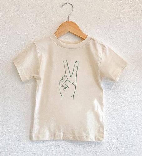 Toddler Peace HandsTee
