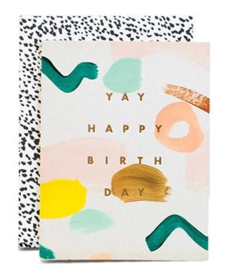 Yay Happy Birthday Card