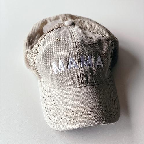Tan Mama Hat