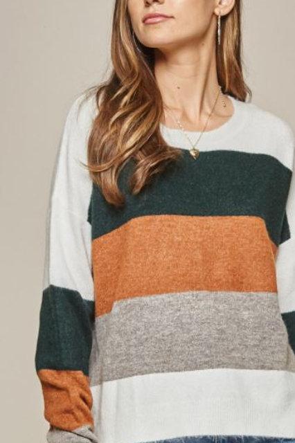 The Willa Colorblock Sweater