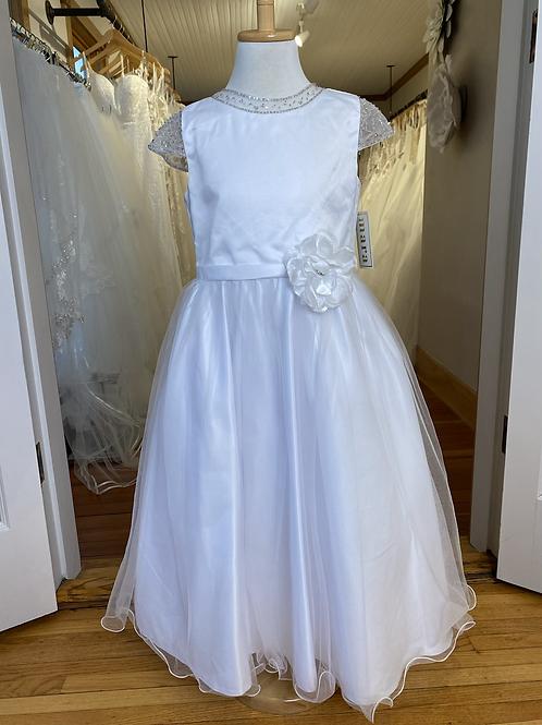 Beaded Sleeves Dress