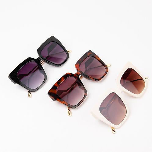 Andros Retro Square Sunglasses
