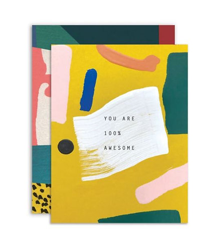 You are 100% Awesome Card